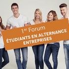 1er Forum Étudiants en alternance/Entreprises du 16 juin 2017 : le bilan