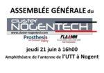 Assemblée Générale du cluster Nogentech :  le jeudi 21 juin 2018