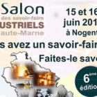 Salon des Savoir-Faire industriels de Haute-Marne 15 et 16 juin 2018 à Nogent (52)