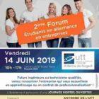 2ème Forum Étudiants en alternance/Entreprises le Vendredi 14 juin 2019